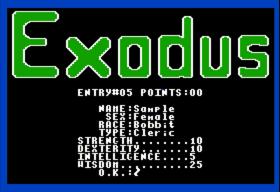 Ultima III - CharacterMaking (Apple II)(1983)(Origin Systems)