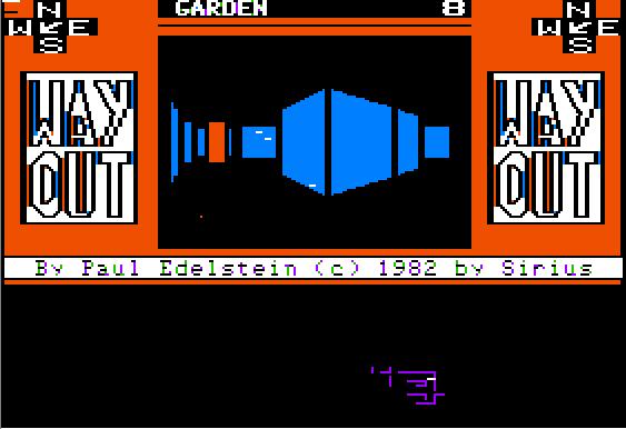 APPLE II - WAY OUT (1982)(Sirius)