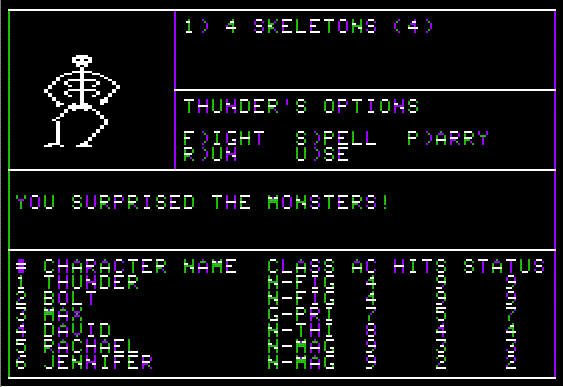 APPLE II - Wizardry: Proving Grounds of the Mad Overlord (1981)(Sir-Tech)