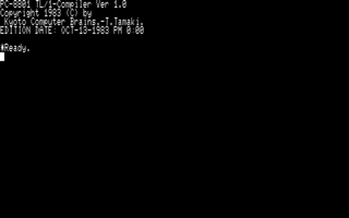 TL/1-88G StartUp (PC-8801)(1983)(KCB)