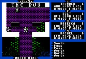 Ultima III - Town#2 (Apple II)(1983)(Origin Systems)